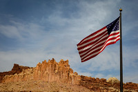 Old Glory and Castle Rock