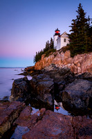 Bass Harbor Head Light Sunrise #ME001